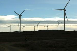 Aerogeneradores en Barracas, Teruel